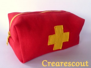 first aid pouch tutorial